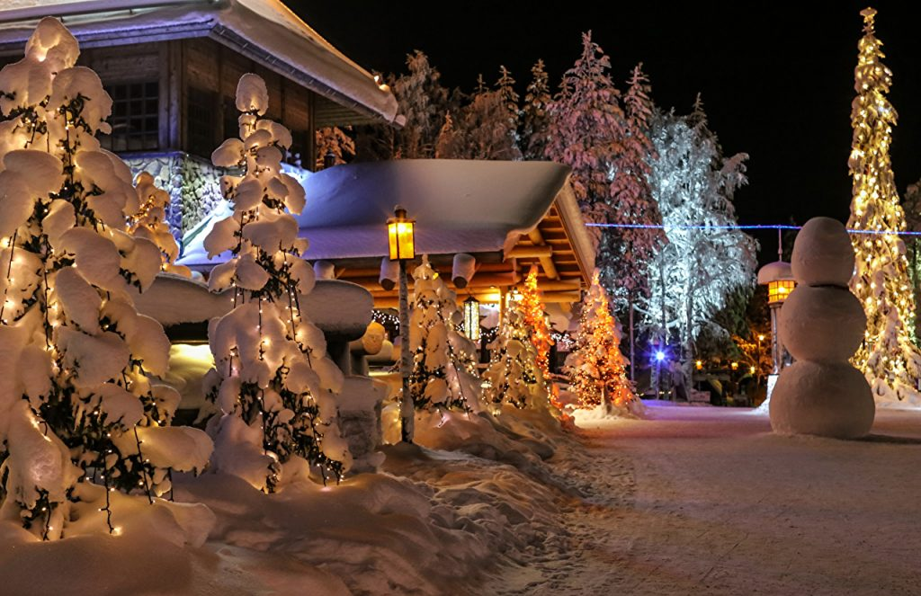 Lapland at Christmas with th