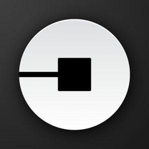 Uber ridesharing app