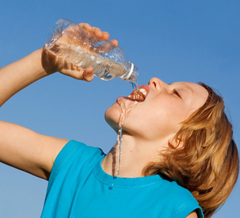 children and dehydration