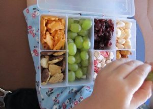 snack box airplane
