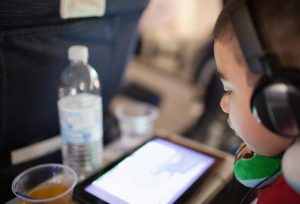 tablet for child airplane