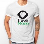 travel mono t-shirt
