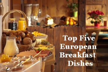 European Breakfast Menu Dishes