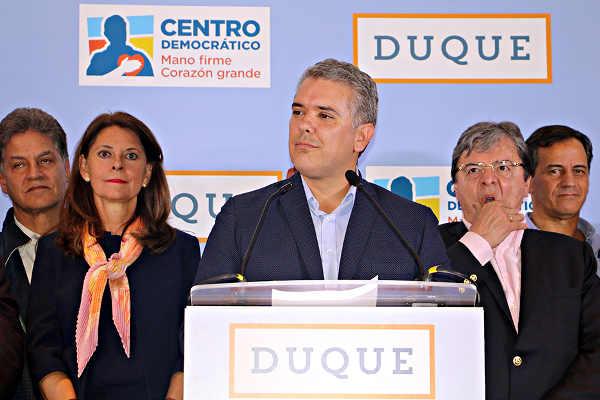 Ivan Duque Colombia