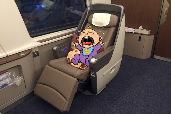 Babies in Business Class