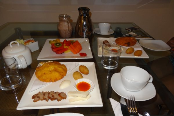 Cartagena breakfast